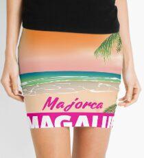 Magaluf Majorca beach travel poster Mini Skirt