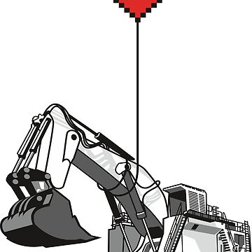 Love Excavator by damnoverload