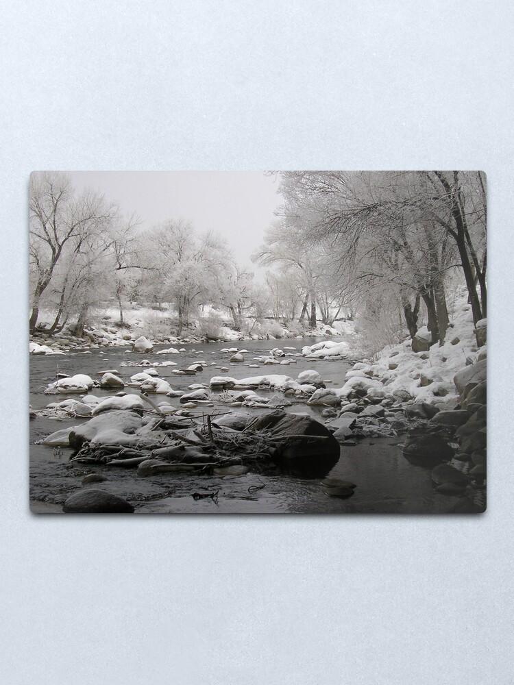 Alternate view of Pogo River Metal Print