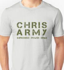 The Chris Army Unisex T-Shirt