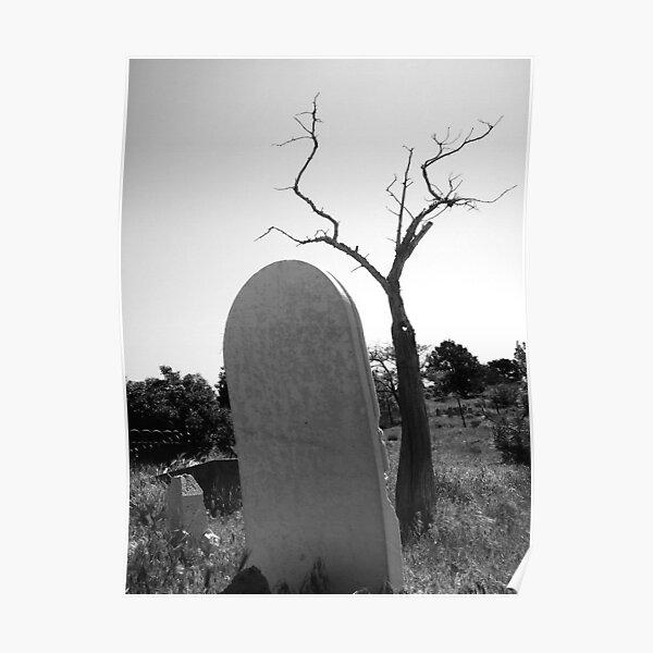 Tombstone Tree Poster