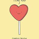 Candy Crush by Milkyprint