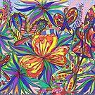 Bevies of Boisterous Butterflies by Joanne Jackson