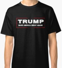Donald Trump President Official Logo Navy Make America Great Again Trump T-Shirts Classic T-Shirt