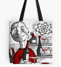 drunker@bar Tote Bag