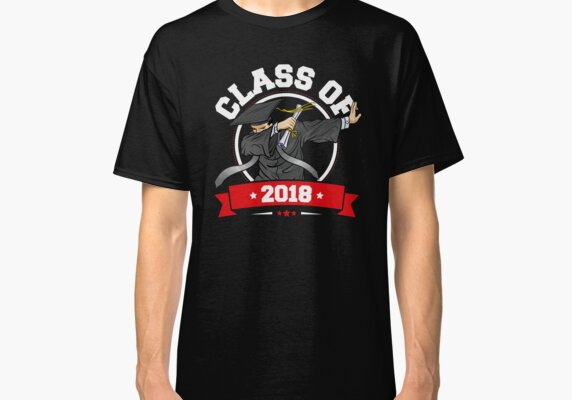 The Dabbing Graduation Class Of 2018 Funny Gifts Tee Mens