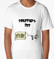 """Solitary bee says """"Leave me alone"""" Long T-Shirt"""