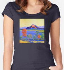 Moogerah Dam [Lake]  Women's Fitted Scoop T-Shirt