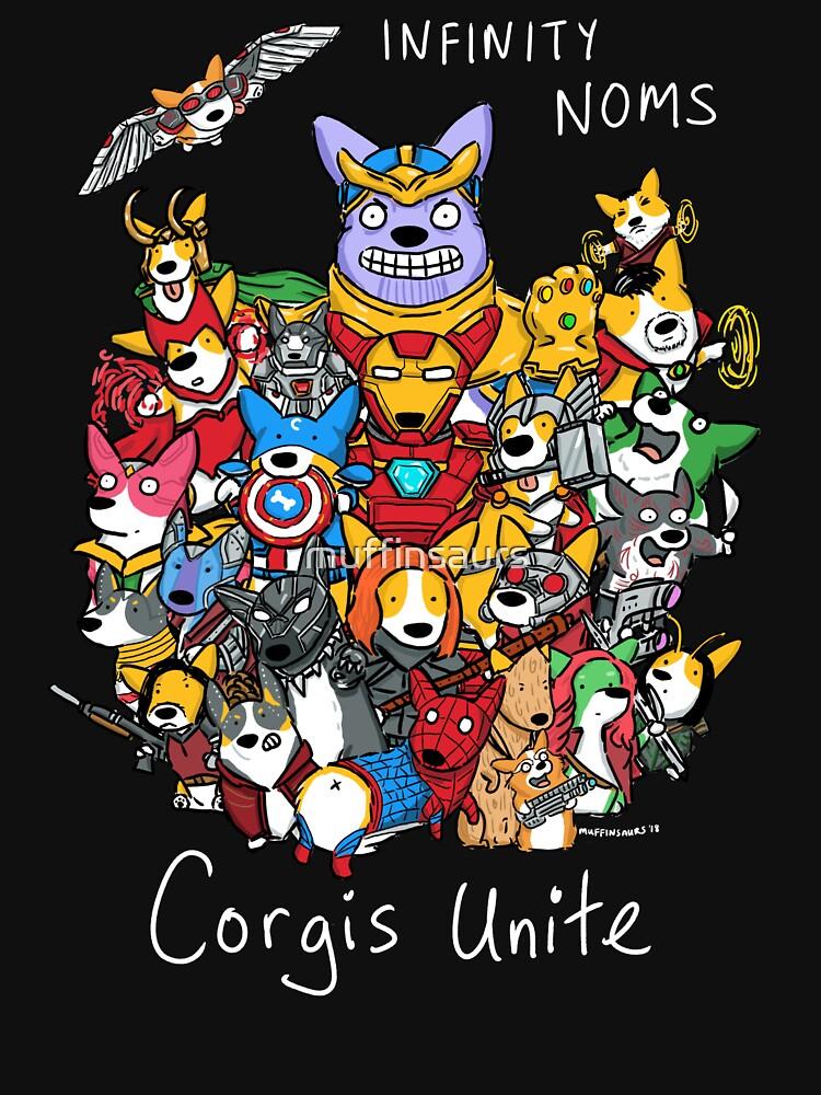Corgis Unite! by muffinsaurs