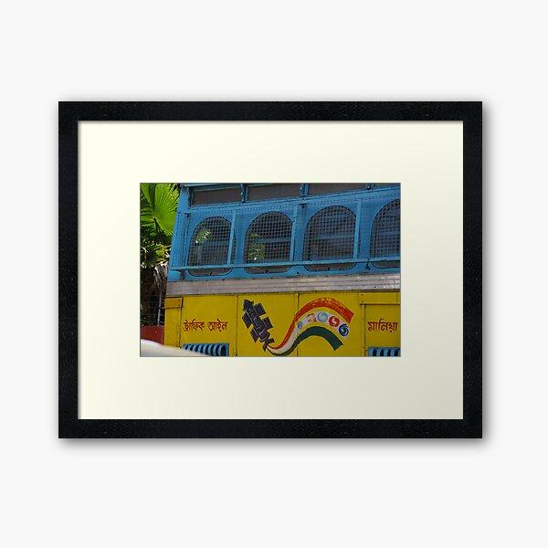 Bus Fair Framed Art Print