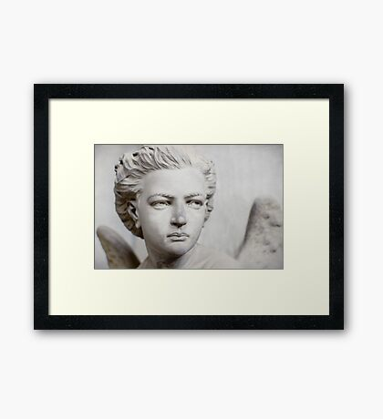 Boy with Wings Framed Print