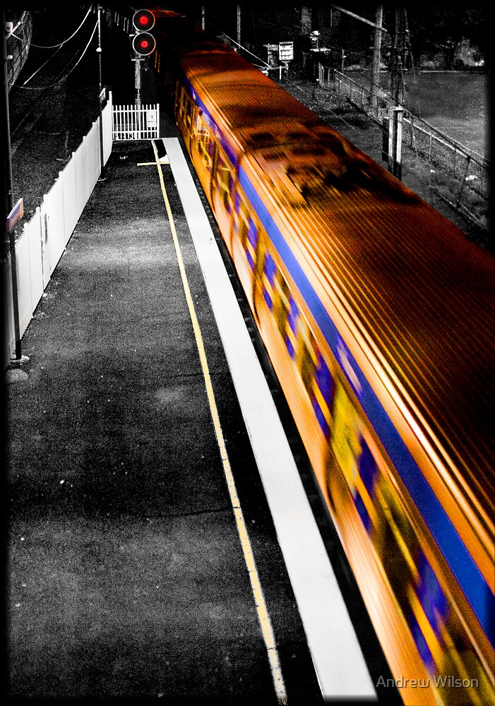 Limited Express to Greensborough by Andrew Wilson