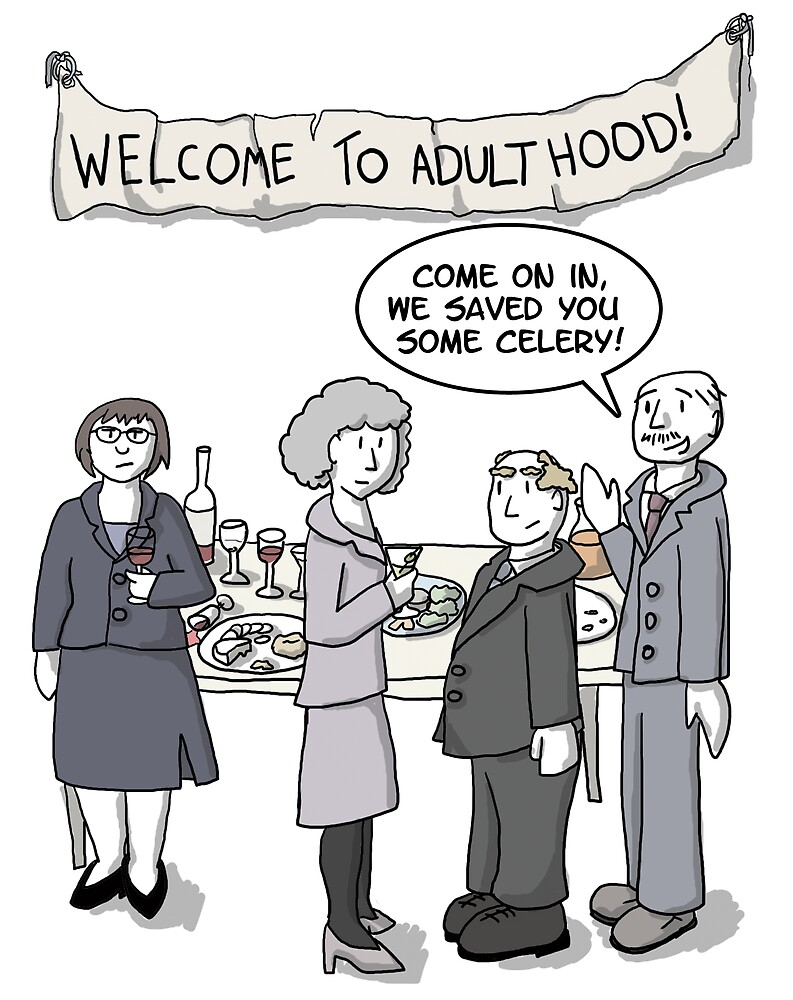 Welcome to Adulthood by Sean Atlas