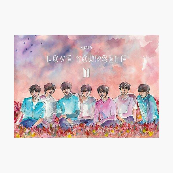 BTS   LOVE YOURSELF Photographic Print