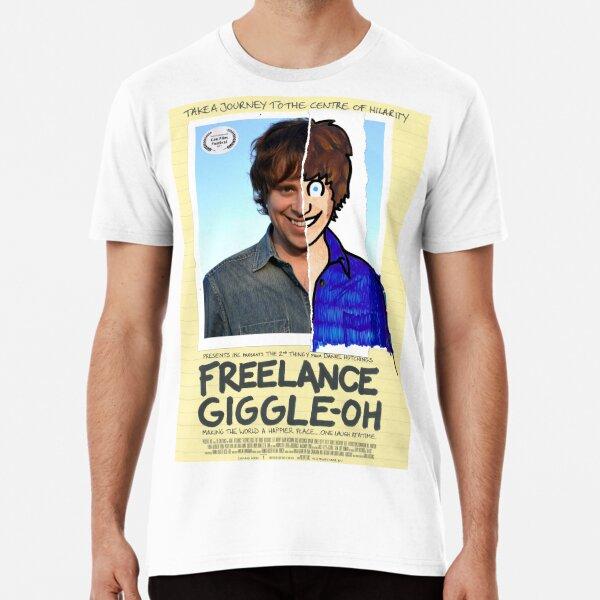 """Freelance Giggle-oh"" - Men's T-Shirt Premium T-Shirt"