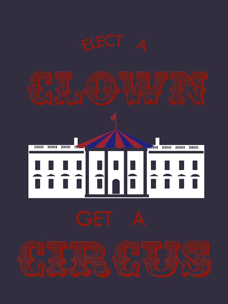 Elect a Clown Get a Circus by del-vis