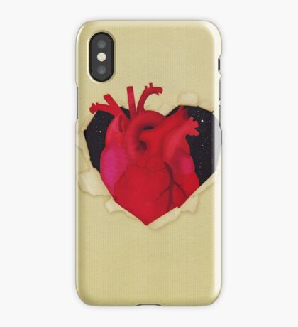 The hidden heart iPhone Case