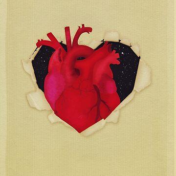 The hidden heart by MagpieMagic