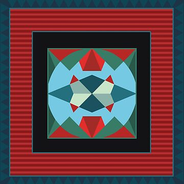 Marrakesh medallion arabic bright seamless pattern by eszadesign