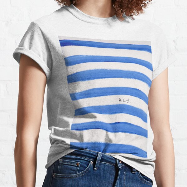 Blue sideways  Classic T-Shirt
