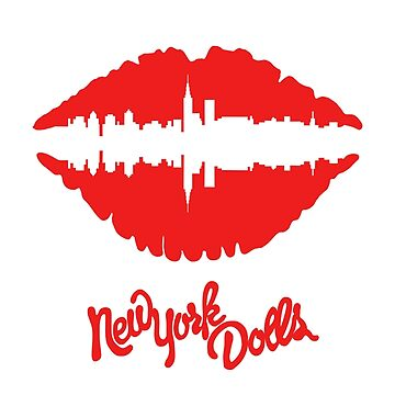 New York Dolls Lips (red) by saulrev1