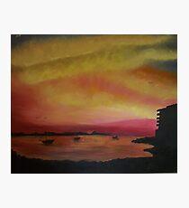 Ibizan Sunset Photographic Print