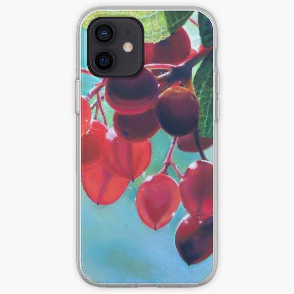 Backlit Berries iPhone Soft Case