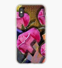 Rosen und Zahnrad. iPhone-Hülle & Cover