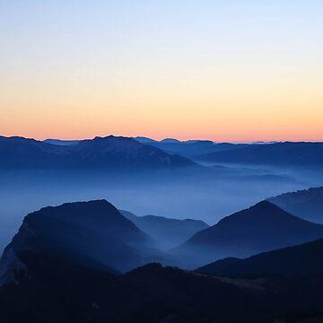 Blue Landscape Mist by bespired