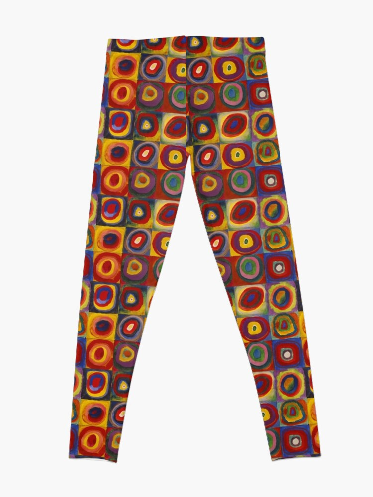 Alternate view of Wassily Kandinsky, Colour Study, Squares with Concentric Circles. Leggings