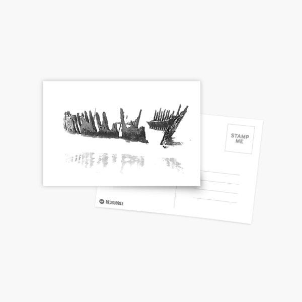 Ghost Shhip Dicky Postcard