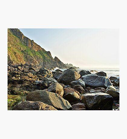 Rocky Coastline - Alderney Photographic Print