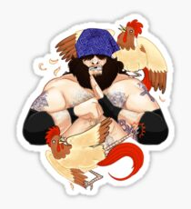 enter the chicken Sticker