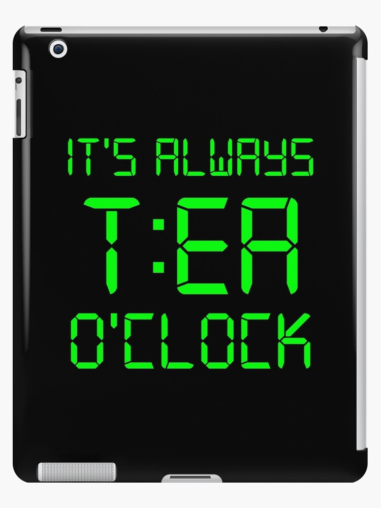 It's Always T:EA O'clock by lo-qua-t