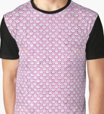 SCALES2 WHITE MARBLE & PINK MARBLE (R) Graphic T-Shirt