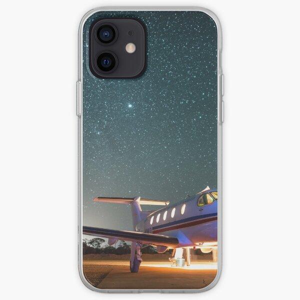 RFDS Evac Under a Starry Southern Sky - Tjuntjuntjara, Great Victoria Desert, WA - Take 1 iPhone Soft Case