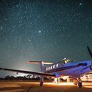 RFDS Evac Under a Starry Southern Sky - Tjuntjuntjara, Great Victoria Desert, WA - Take 1 by Liam Byrne