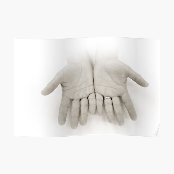 Hands: Openness Poster