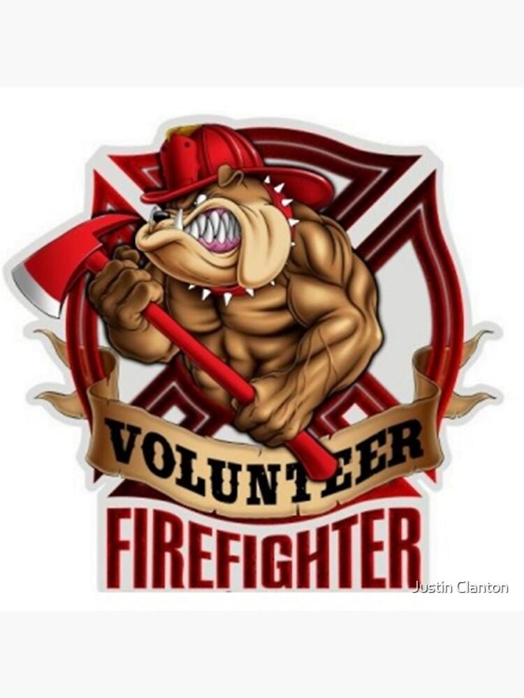 Volunteer FireFighter Bulldog by TeamBride