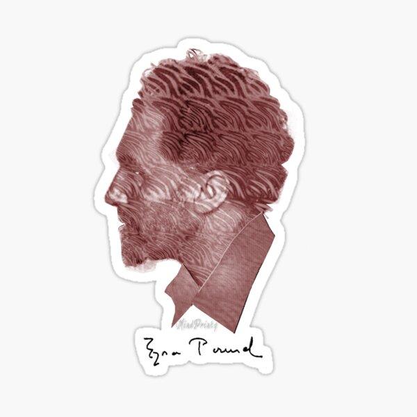 Ezra Pound Sticker
