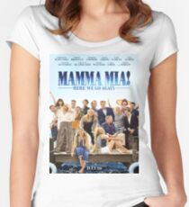 Mamma Mia: Here We Go Again! Women's Fitted Scoop T-Shirt