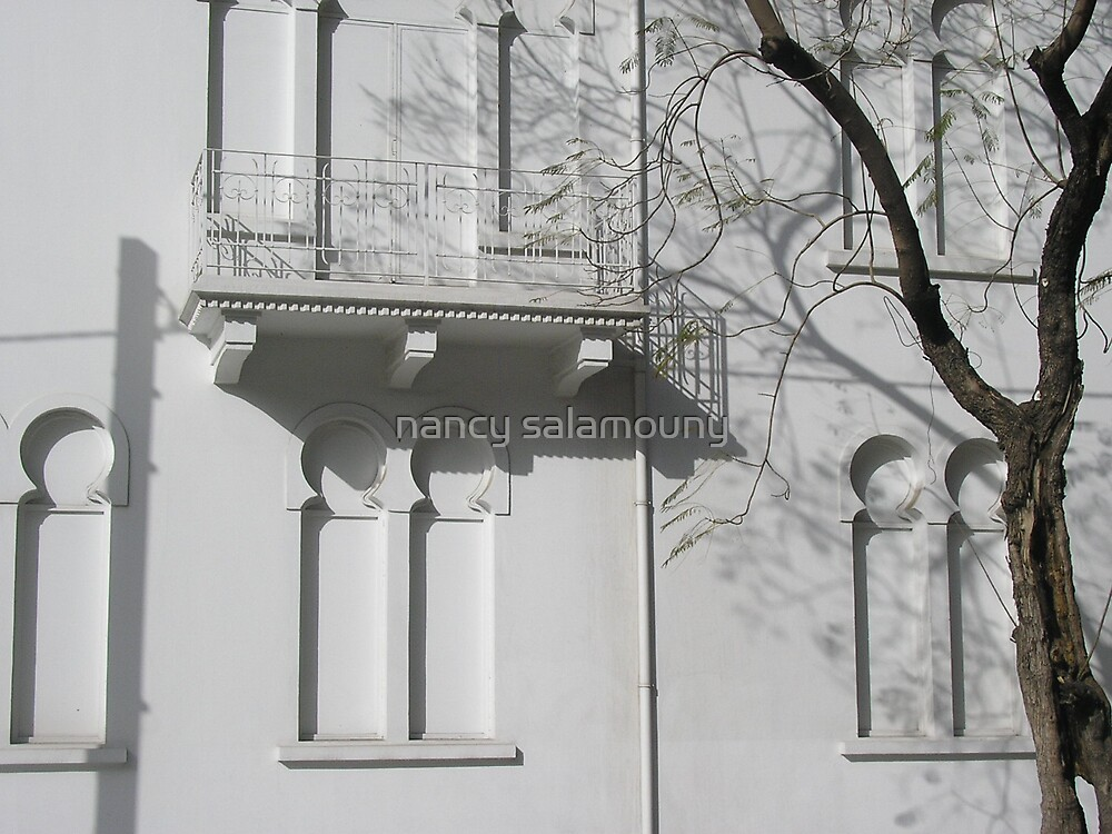 White on White by nancy salamouny