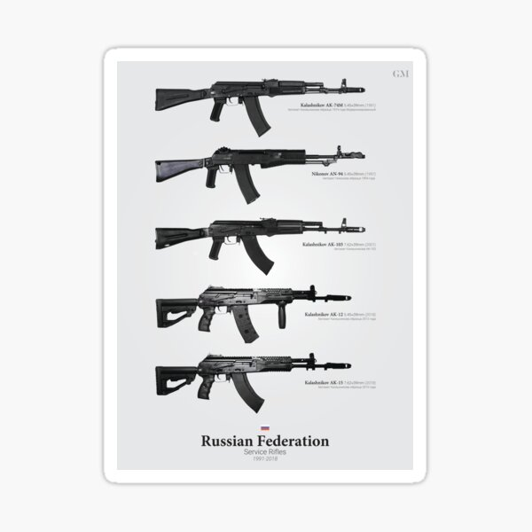 Service Rifles of the Russian Federation Sticker