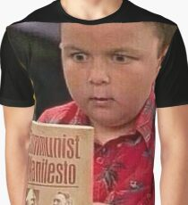 Gibby gibt dem Manifest eine Lektüre Grafik T-Shirt