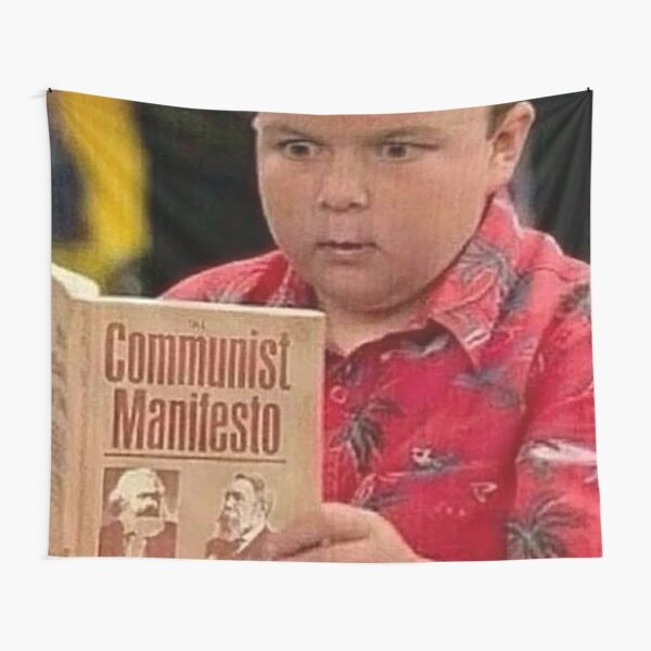 Gibby gives the Manifesto a read Tapestry