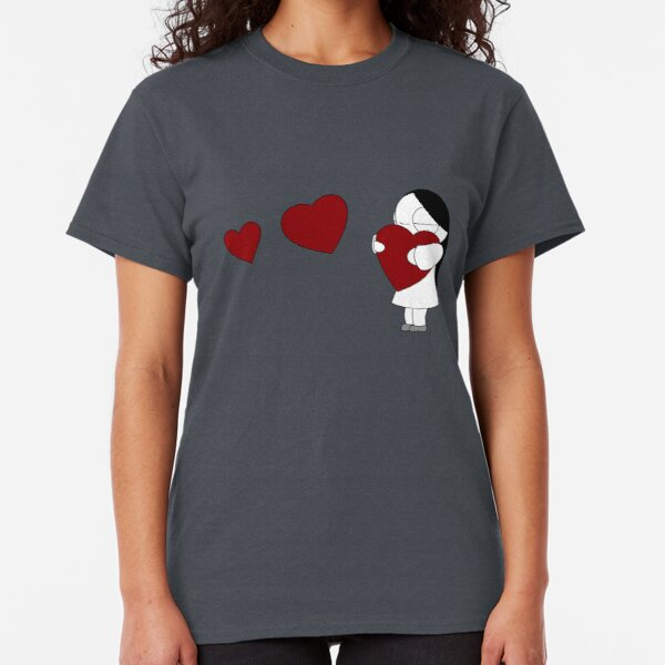 I Love Heart Linda Ladies T-Shirt