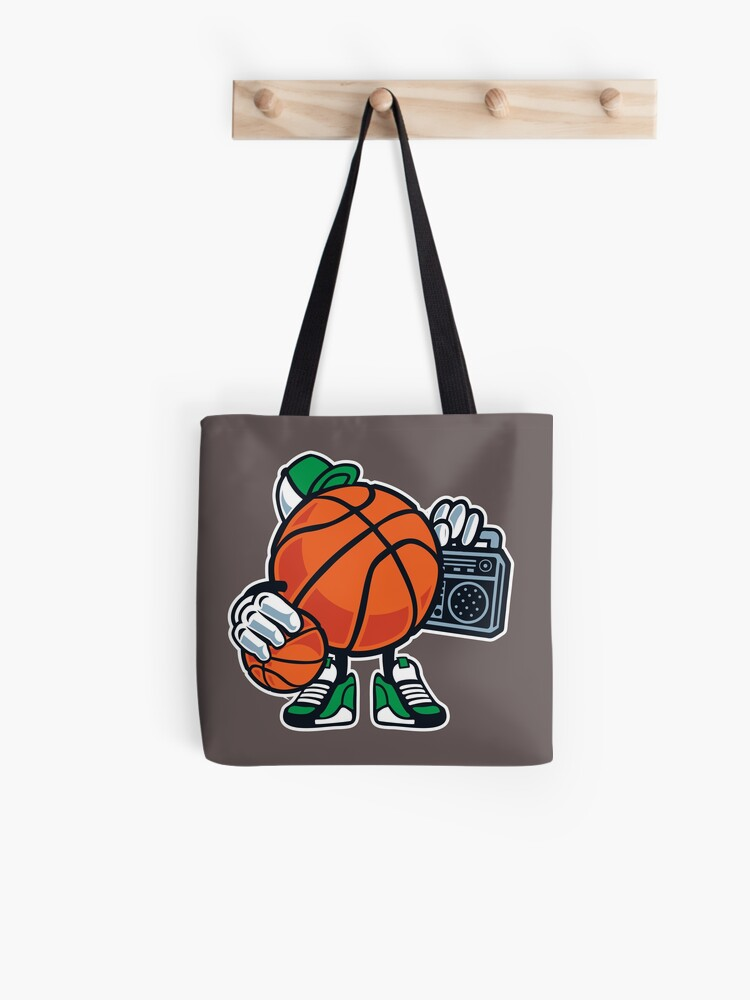 Funny Basketball Cartoon Street Baller Game Gift T Shirt For Kids Tote Bag By Culturesociety Redbubble