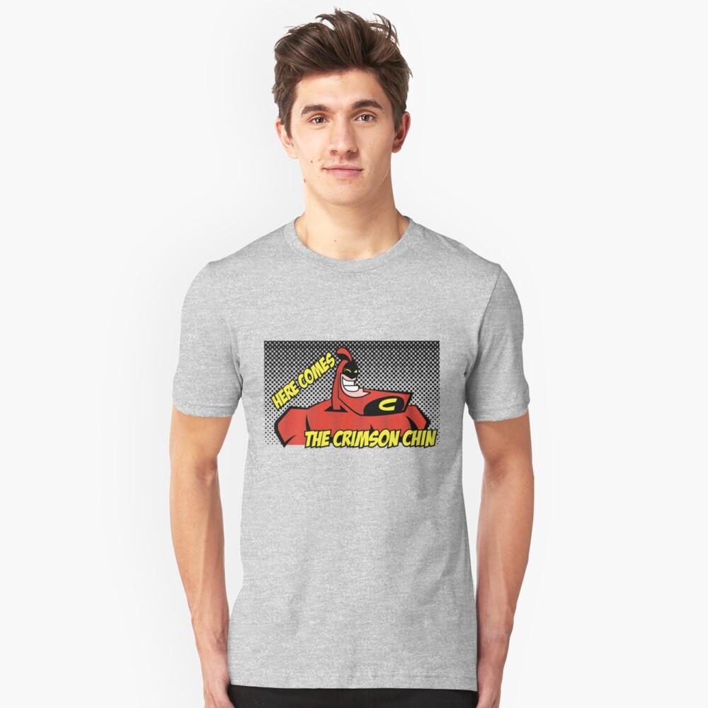 """The Crimson Chin Comic"" T-shirt by Mrmasterinferno ..."