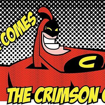 The Crimson Chin Comic by Mrmasterinferno