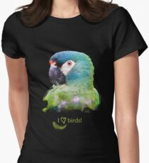 Parrot Womens Fitted T-Shirt